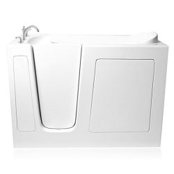 Ariel EZWT-3054- Soaker-L Walk in bathtub Left Side Drain