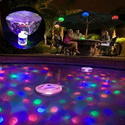 Meng Swimming Pool Waterproof Light, Pond, Underwater Light Show and Aquarium, Fountain, hot tub ...