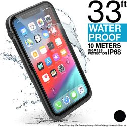 iPhone Xs Max Waterproof Case with Lanyard by Catalyst, Shock Proof Drop Proof Military Grade Ma ...