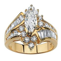 Kalinyer Ring Bands for Women, Wedding Rings for Women Engagement Ring Set 925 Sterling Silver ( ...