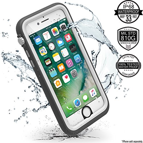 Catalyst iPhone 7 Waterproof Case, Shock Proof, Drop Proof for Apple iPhone 7 with High Touch Se ...