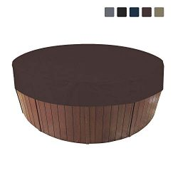 COVERS & ALL Round Hot Tub/Spa Cover 12 Oz Waterproof – 100% UV & Weather Resistan ...