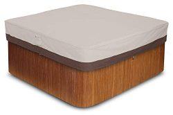 AmazonBasics Square Hot Tub Cover, Medium