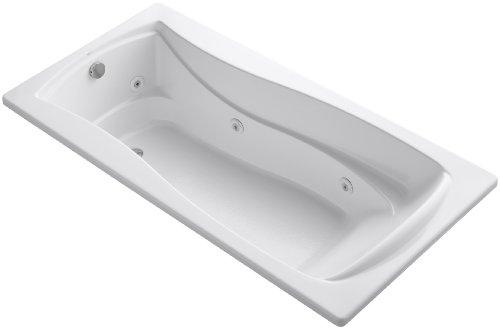 KOHLER K-1257-0 Mariposa 6-Foot Whirlpool, White