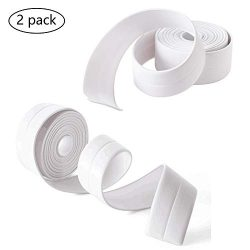 Sealing Strip Bathtub Wall Caulk Strip PE Self Adhesive Waterproof Sealing Tape Strip Caulk Seal ...
