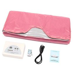 TTLIFE Digital Far-Infrared (FIR) Heat Sauna Blanket 2 Zone Controller Upgraded Version Body Sha ...