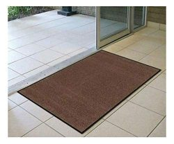 Brown Heavy Duty Commercial Entrance Door mat Indoor Outdoor Office Business 3′ x 5′ ...