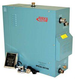 TURKU RX120I-KS100A Full Set 12KW Steam Shower Bath Generator with Vapor-Proof KS-100A Control P ...