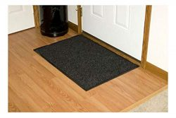Black Heavy Duty Commercial Entrance Door mat Indoor Outdoor Office Business 3′ x 5′ ...