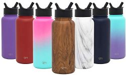 Simple Modern 22 oz Summit Water Bottle with Straw Lid – Gifts for Kids Hydro Vacuum Insul ...