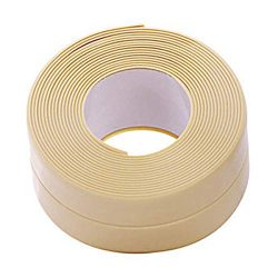 Bathtub Wall Caulk Strip PE Self Adhesive Waterproof Sealing Tape Strip Caulk Sealer Decorative  ...
