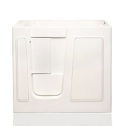 American Tubs CARE2645 26″ x 45″ Air Massage Soaker Walk-in Bathtub – Left Dra ...