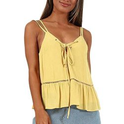 Tank Tops-Camis for Women, Camisole Ladies Summer V-Neck Sleeveless Casual Sexy Camis Blouse-Far ...