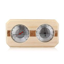 Beacon Pet Wooden Sauna Room Hygrothermograph Thermometer Hygrometer Sauna Equipment Accessory (#4)
