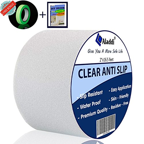 [Flash Sale] Anti Slip Tape Clear – Bonus Glow in The Dark Tape + eBOOK| Tread High Fricti ...