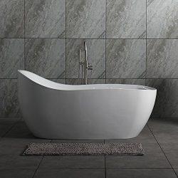 Woodbridge Deluxe Free Standing Bathtub, B-0033 Air Bubble Tub
