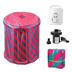 YYYBW Inflatable Sauna Tent Home Spa Box Portable Personal Bath Sauna (1.5 L Tent)
