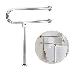 Handicap Grab Bars Rails Toilet Handrails Bathroom Safety Bar Hand Support Rail Handicapped Hand ...