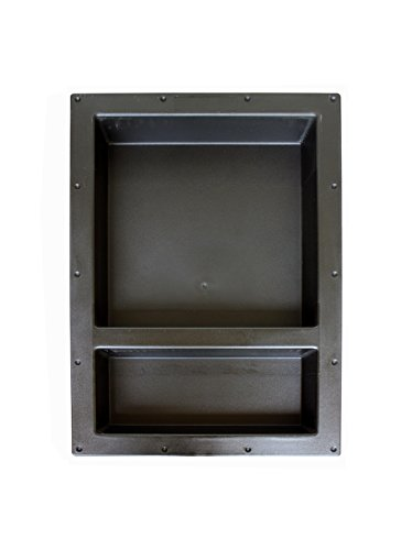 Large Double Recessed Shower Niche, Ready to Tile, 25″ x 17″ x 3.75″ by Novalinea