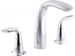 KOHLER K-T5323-4-CP Refinia Bath Faucet Trim, Valve Not Included, Polished Chrome