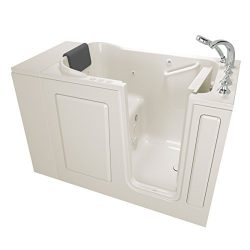 American Standard 28″x48″ Right Hand Premium Series Walk in Combo Whirlpool and  Air ...