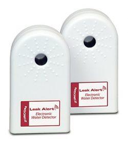 ZirconLeakAlertWaterLeakDetector & Flood Sensor Alarm/ WaterLeakSensor with DualLeak ...