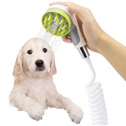 Pet Bathing Sprayer Scrubber Mothermed Dog Bath Shower Sprayer Attachment Pet Bathing Tools Supp ...