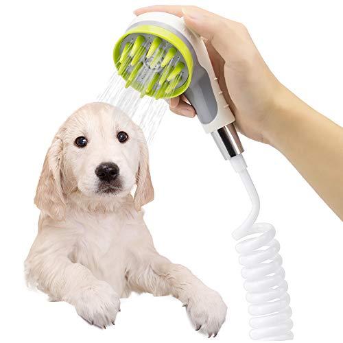 Pet Bathing Sprayer Scrubber Mothermed Dog Bath Shower Sprayer Attachment Pet Bathing Tools Supp ...