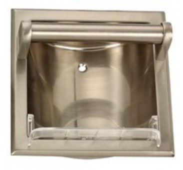 Mintcraft 770h-07-sou Soap Holder-Grab Bar Br Nickel