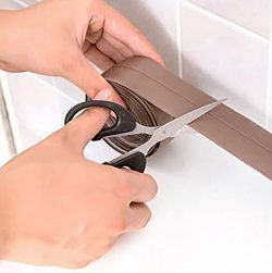 Lldaily Kitchen Waterproof Mildew Tape Self Adhesive Tub and Wall Sealing Tape Caulk Sealer Wall ...