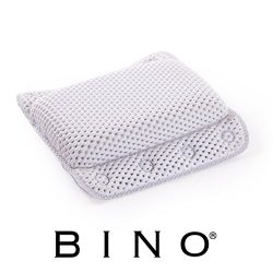 BINO Non-Slip Cushioned Bath Pillow With Suction Cups, White – Spa Pillow Bath Pillows For ...
