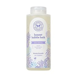 Honest Calming Lavender Hypoallergenic Bubble Bath with Naturally Derived Botanicals, Dreamy Lav ...