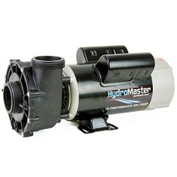 HydroMaster 2 HP Hot Tub Spa Pump Side Discharge 2-SPD 48-Frame LX Motor 240V (Also Replaces Wat ...