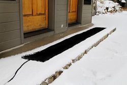 Summerstep Home WM12x120-RES Residential Snow Melting Heated Walkway Mat, Anti-Slip, 120V, 220 W ...