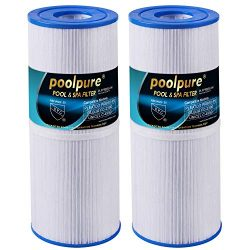 POOLPURE Spa Filter for Hot Tub, Compatible with Pleatco PRB50-IN, Unicel C-4950, Filbur FC-2390 ...
