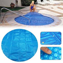 K&A Company 7x7ft Round Hot Tub Heat Retention Cover Heat Retention Bubble SPA Thermal Blanket