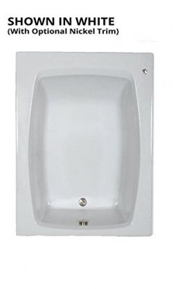 Watertech – S6048 White Soaking Bath (60 in. x 48 in.)