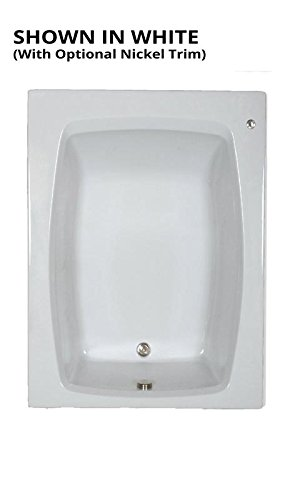 Watertech – S6048 White Soaking Bath (60 in. x 48 in.)