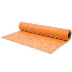 Waterproof Membrane 3.3 ft x 33 ft / 108 square feet / 8 mil- Waterproofing Fabric For Showers,  ...