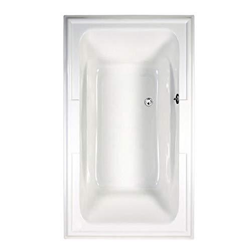 American Standard 2742068C.020 Town Square Ever Clean Air Bath, 6-Feet by 42-Inch, White