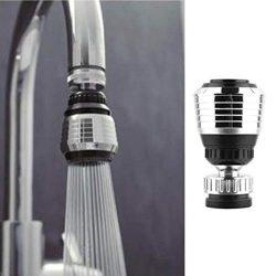 5PCS Flexible Faucet Nozzle Extension Universal Kitchen Bathtub Sprayer Turbo Rotate Aerator Sin ...