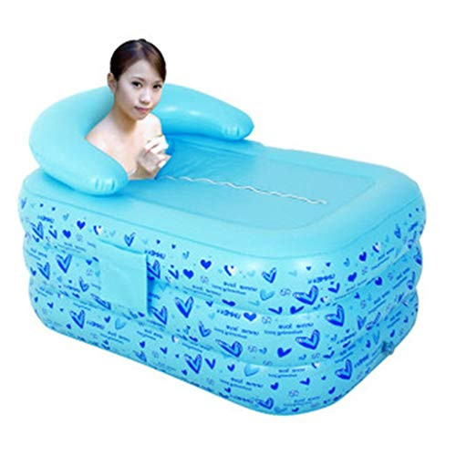 Drop-In Bathtubs Inflatable Bathtub Bath Tub Inflatable Can Sit On The Bathtub Thick Warm Warm B ...