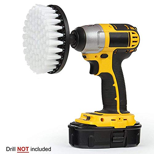 ❤SU&YU❤Electric Drill Brush Grout Power Scrubber Cleaning Brush Tub Cleaner To ...