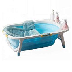 Drop-In Bathtubs Bathtub Baby Folding Tub Baby Tub Children Bath Tub Newborn Supplies Bath Newbo ...