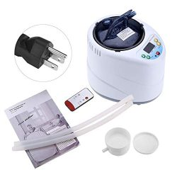 Portable Sauna Steamer, 2L Spa Machine Fumigation Machine Steam Generator Pot with Remote Contro ...