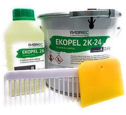 Ekopel 2K Bathtub Refinishing Kit – Odorless DIY Sink And Tub Reglazing Kit – 20X Th ...