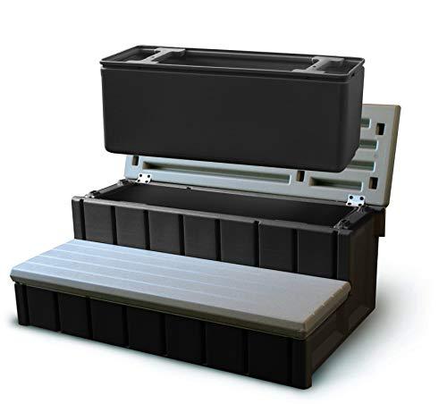 Confer Plastics Spa Step with Storage – Gray (Renewed)