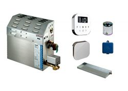 Mr Steam MS-225-EC1 7.5 KW Steam Bath Generator with Air Butler Package in White Finish –  ...