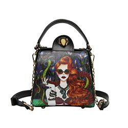 CCFAMILY Fashion Women Printing Beautiful Girls Crossbody Bag Handle Bags Shoulder Bags
