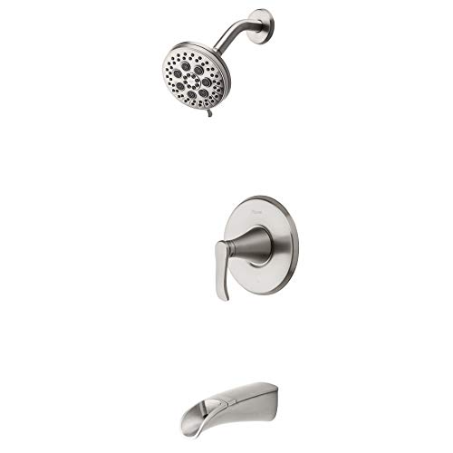 Pfister 8P8-WS2-JDSGS Jaida Tub and Shower Faucet, Spot Defense Brushed Nickel